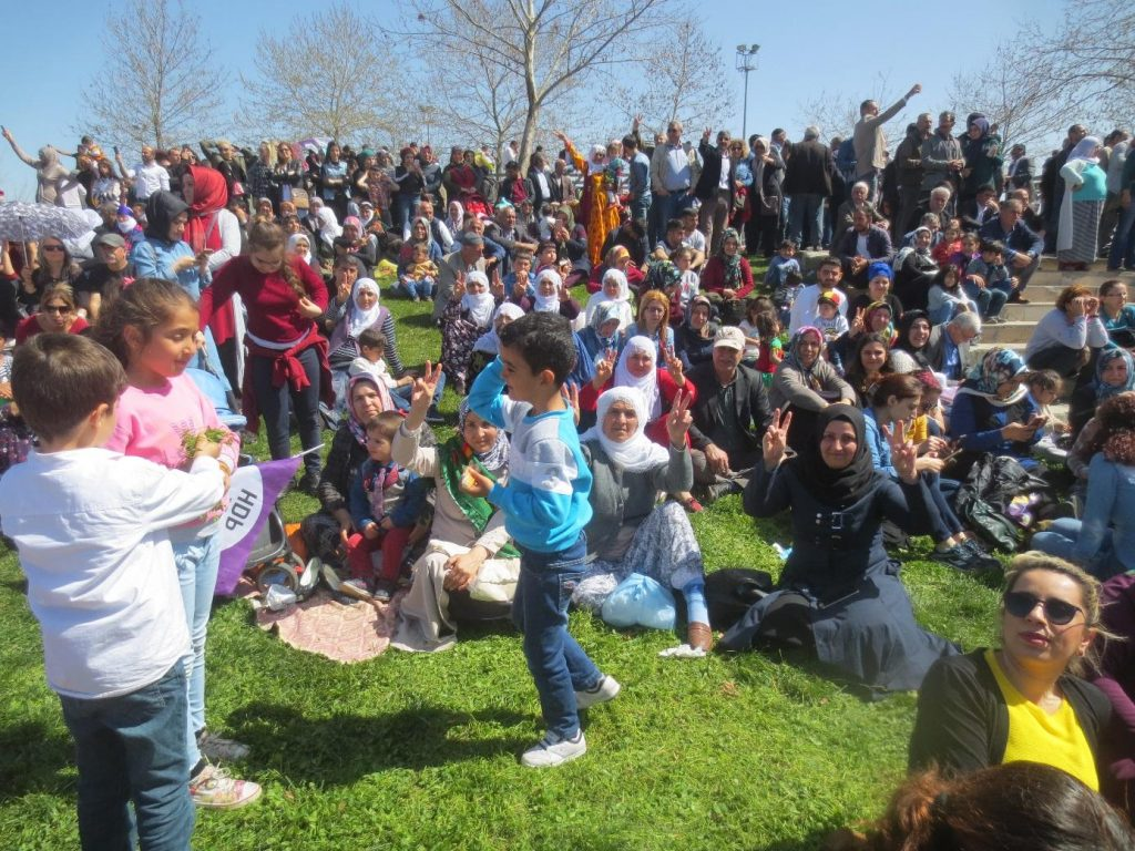 Newrozfest am 21.3.2018 in Diyarbakir